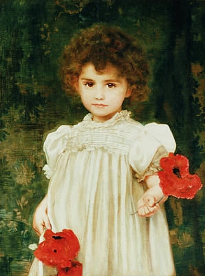 Pickers Painting - Connie by William Clark Wontner