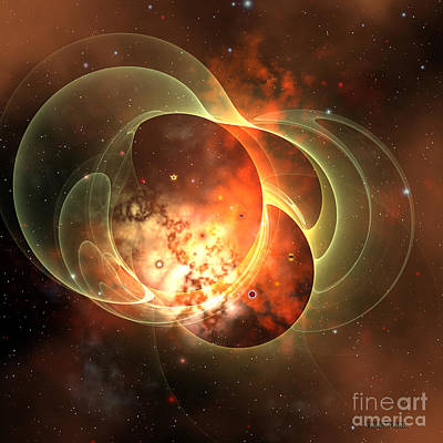 Constellation Digital Art - Constellation by Corey Ford