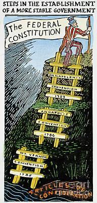 Constitution Cartoon Print by Granger