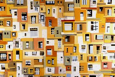Construction 30 Print by Ashley Lathe