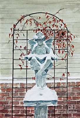 Contemplation Of Winter Original by Monte Toon