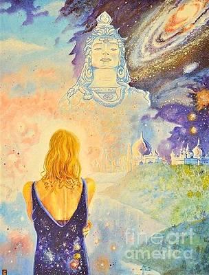 Margot Painting - Contemplation To Shiva by Antonio Porto