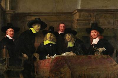 Official Portrait Digital Art - Contemporary 3 Rembrandt by David Bridburg