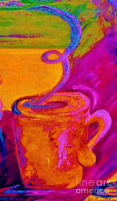 Contemporary Coffee Cup Print by Eloise Schneider