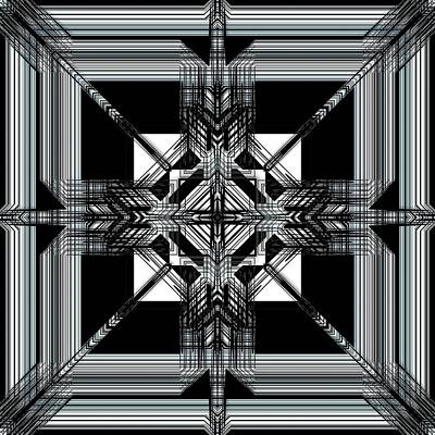 Digital Art - Continental Abstraction by Mario Carini