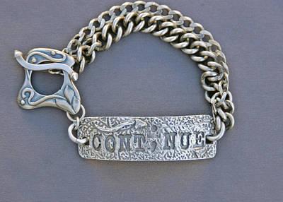 Sterling Silver Bracelet Jewelry - Continue by Mirinda Kossoff