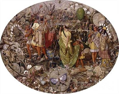 Contradiction Painting - Contradiction by Richard Dadd