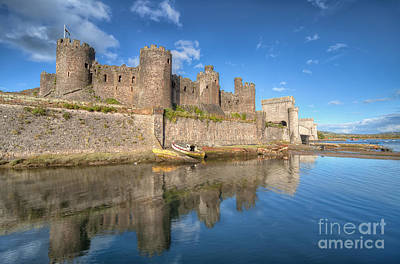 Towers Digital Art - Conwy Castle by Adrian Evans