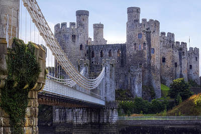 North Conway Photograph - Conwy Castle - Wales by Joana Kruse