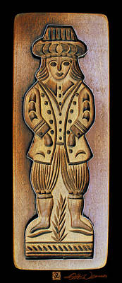 Relief Carving Relief - Cookie Baking Mold 14 by Hanne Lore Koehler