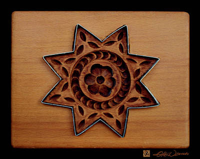 Relief Carving Relief - Cookie Mold 13 by Hanne Lore Koehler
