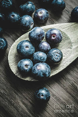 Health Food Photograph - Cooking With Blueberries by Jorgo Photography - Wall Art Gallery