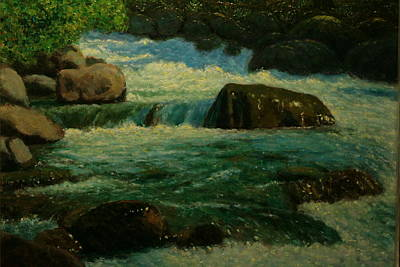 Painting - Cool Mountain Water by Terry Perham