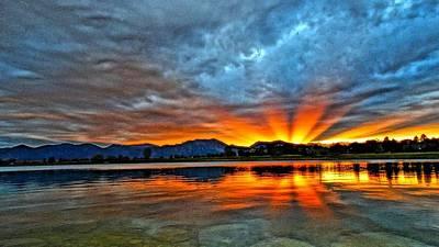 Photograph - Cool Nightfall by Eric Dee