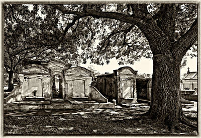 Cemetery Photograph - Cooling It by Steve Harrington