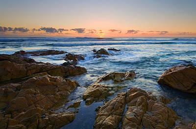 Dawn Photograph - Coolum Dawn by Mike  Dawson