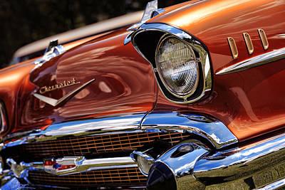 Copper 1957 Chevy Bel Air Original by Gordon Dean II
