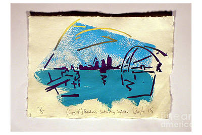 Manley Mixed Media - copy of Brendans Saturday Sydney three out of five. by Timothy Beighton