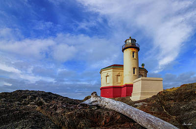 Photograph - Coquille River Light by C Steele