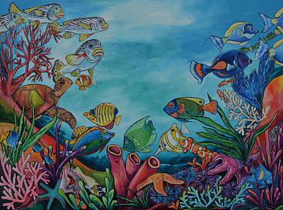 Coral Reef Original by Patti Schermerhorn