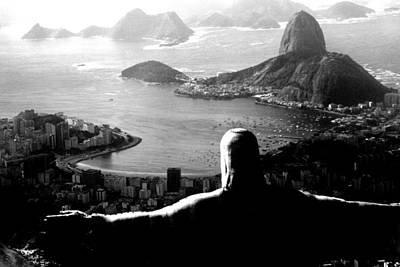 Corcovado - Rio De Janeiro - Brasil Print by Eduardo Costa