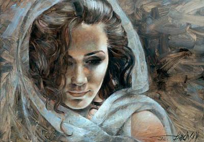 Painting -  Cornelia Portrait2 by Arthur Braginsky