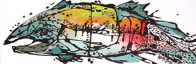 Wildlife Painting - Cornelius The Cutty by Nicole Gaitan