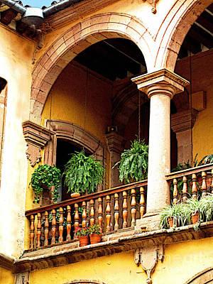 Patzcuaro Photograph - Corner Arch by Mexicolors Art Photography