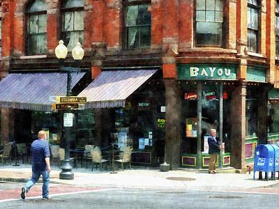 Brick Photograph - Corner Of Columbia And Pearl Albany Ny by Susan Savad