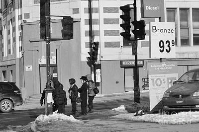 Corner Of The Street Original by Reb Frost