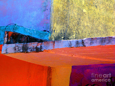 Corner Scroll 2 By Michael Fitzpatrick Print by Mexicolors Art Photography