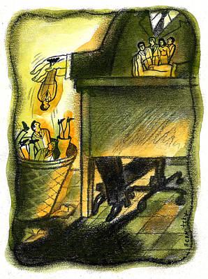 Corporate Downsizing Original by Leon Zernitsky