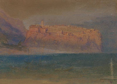 Italian Landscape Painting - Corsica by Joseph Mallord William Turner