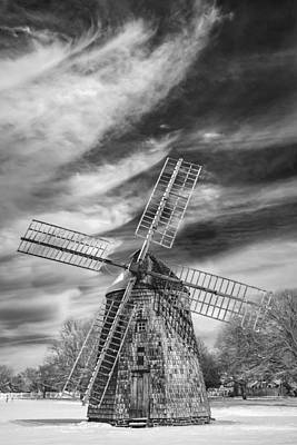 Corwith Windmill Long Island Ny II Print by Susan Candelario