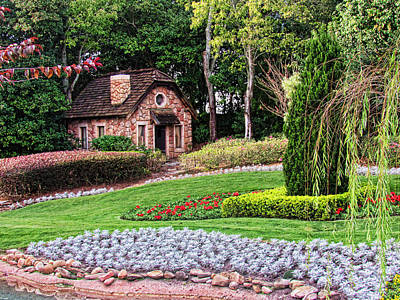 Disney Photograph - Cottage by Sean Dorazio