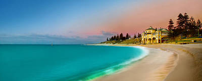 Cottesloe Beach Sunset Print by Az Jackson