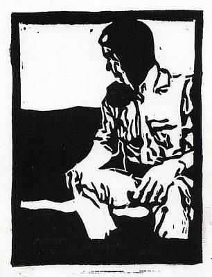 Couch Potato Print by Bradley Hendricks