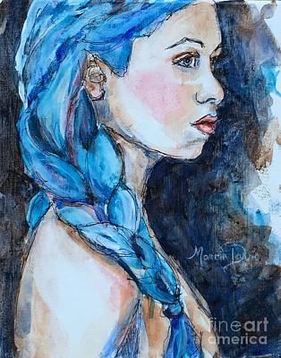 Couleur Blue Original by Marcia Davis