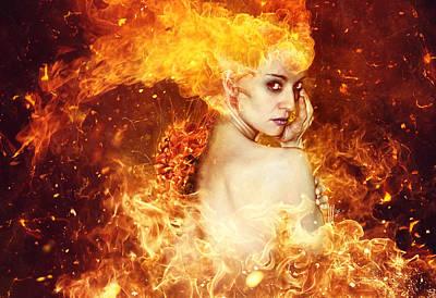 Anger Digital Art - Countdown by Mario Sanchez Nevado