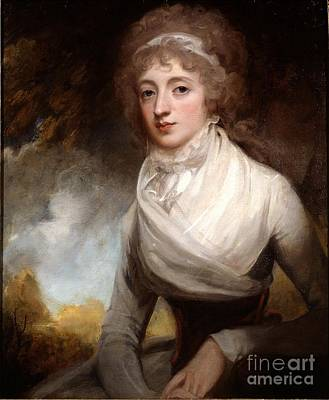 Romney Painting - Countess Of Courtown by Celestial Images