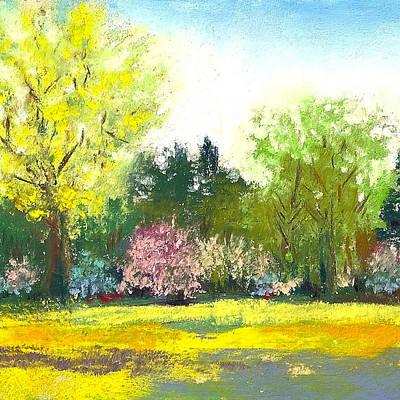 Country Garden Print by David Patterson
