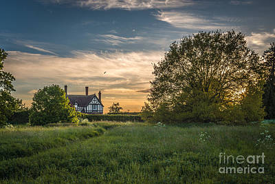 Country House Print by Amanda And Christopher Elwell