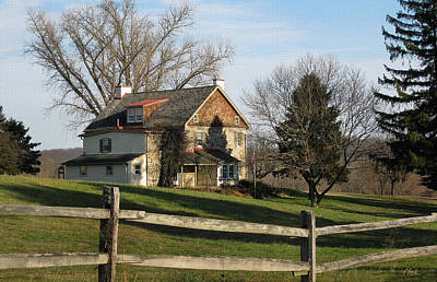 Pennsbury Photograph - Country House by Gordon Beck