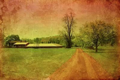 Country Dirt Roads Digital Art - Country Living - Bayonet Farm by Angie Tirado