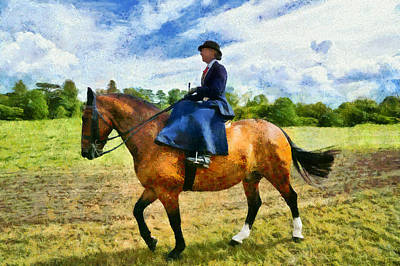 Monet Lady Photograph - Country Ride by Scott Carruthers