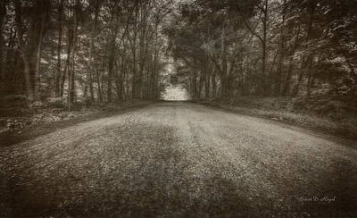 Black Country Photograph - Country Road by Everet Regal