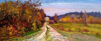 Country Road - Toscana Original by Biagio Chiesi