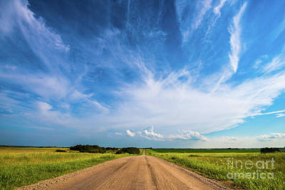 Getty Photograph - Country Roads IIi by Ian McGregor