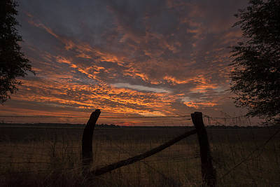 Country Sunrise Print by Chris Harris