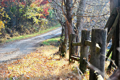Country Wv Road Print by Chastity Hoff